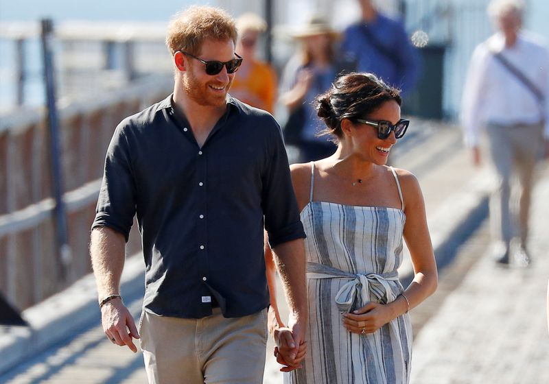 Britain's Prince Harry and Duchess Meghan expecting second child