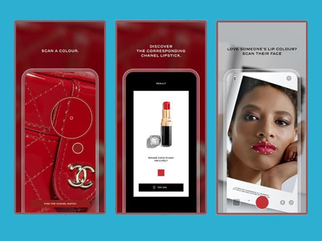 Chanel launch a Lipscanner app using software that finds your dream lip colour