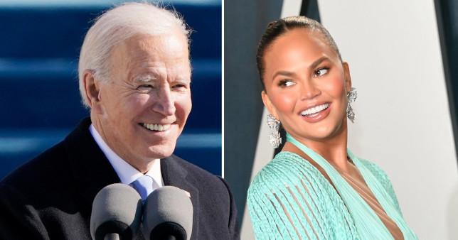 Chrissy Teigen Joe Biden Twitter