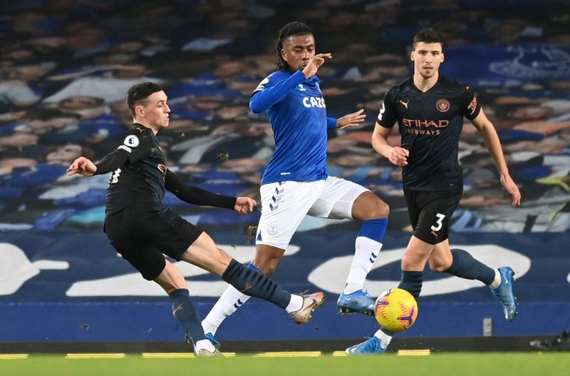 Classy City go 10 points clear with 3-1 win at Everton