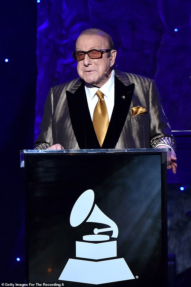 Health scare:Music producer Clive Davis revealed that he has been diagnosed with a medical condition know as Bell's Palsy and will be postponing his annual Pre-Grammy Gala as a result, Variety reported on Tuesday