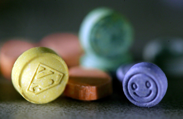 MDMA has been used in a new research trial by Imperial College London (Credits: SAKKI / Rex Features)