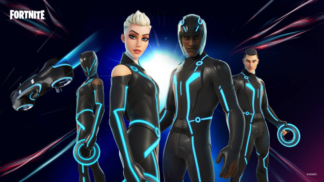 Fortnite Tron skins