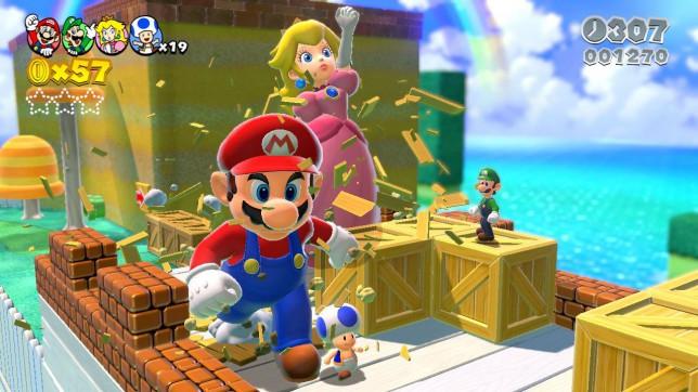 Super Mario 3D World - family favourite