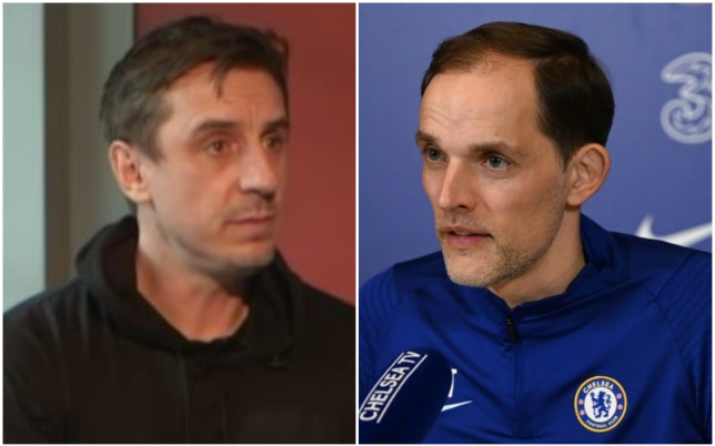 Gary Neville says Chelsea have made a quick improvement under Thomas Tuchel