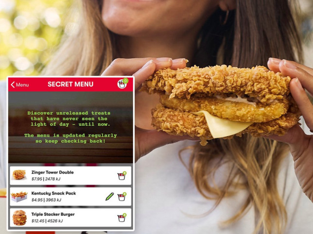 How to order the 'secret' KFC hash brown Double Down here in the UK