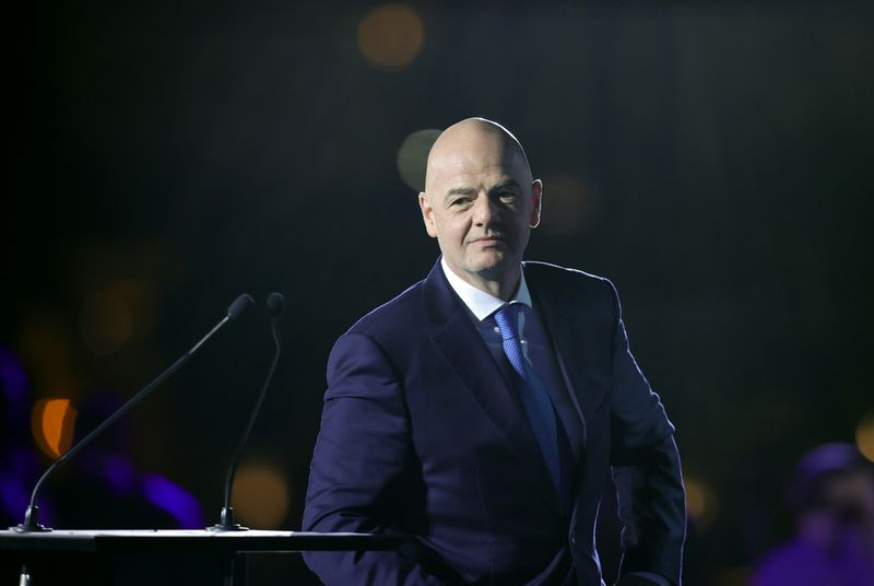 Infantino denies asking female Club World Cup officials not to approach Sheikh