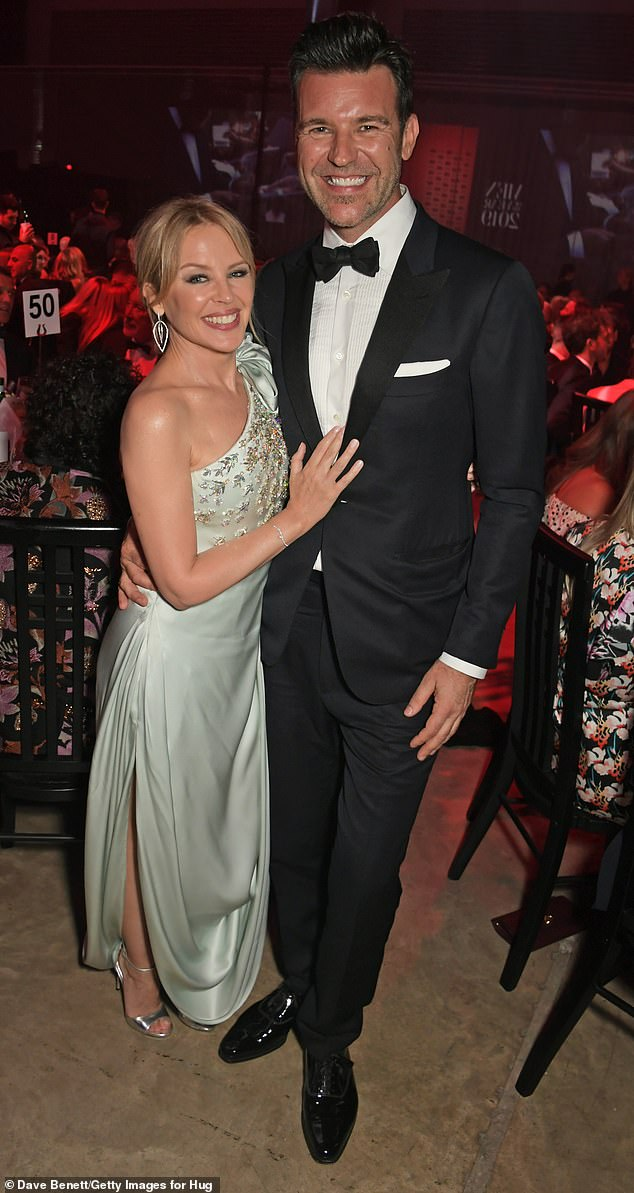 'When she does marry, it will be in her beloved hometown': Kylie Minogue, 52, is said to be planning to marry herfiancé, Paul Solomons, 46, in a lavish ceremony inMelbourne