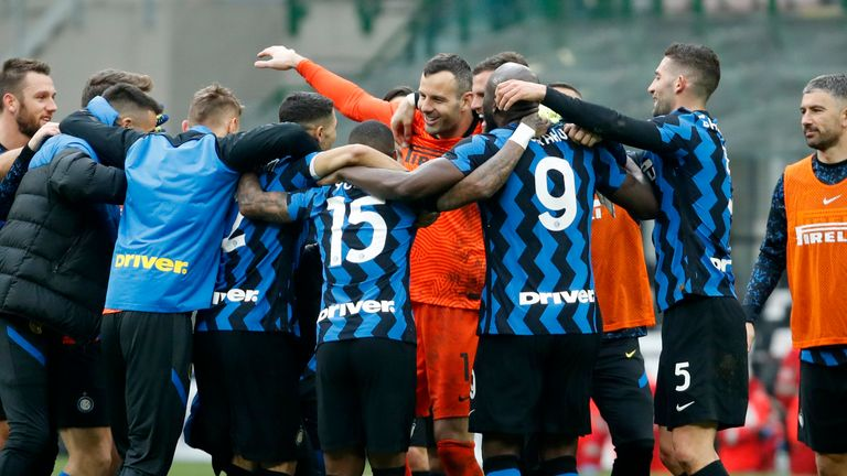 Suning Group also owns Serie A club Inter Milan