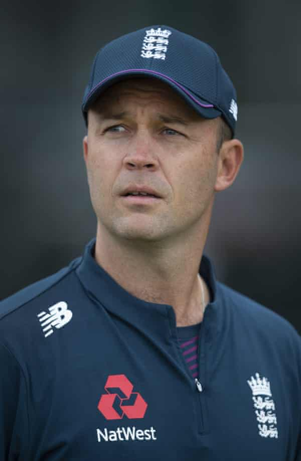 Jonathan Trott is assisting lead batting coach Graham Thorpe