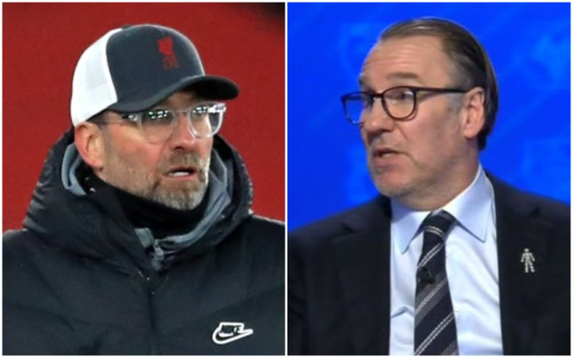 Paul Merson says Jurgen Klopp's job at Liverpool is under threat if they miss out on the Champions League