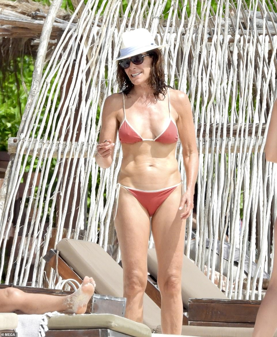 Life's a beach! Luann de Lesseps showed off her killer bikini body as she enjoyed a getaway to gorgeous Tulum on Tuesday