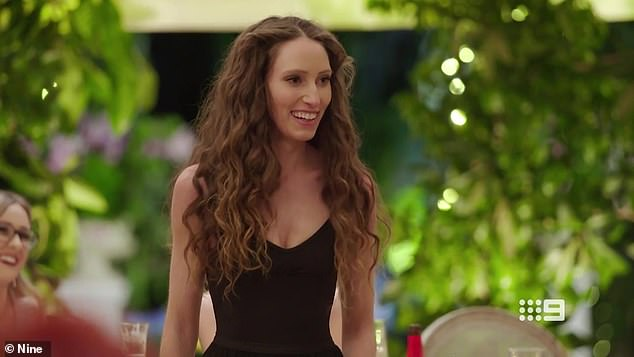 Dance revolution:On Sunday's episode of Married At First Sight Australia, bride Belinda Vickers (pictured) wooed her new 'husband', Patrick Dwyer, with a ballet dance