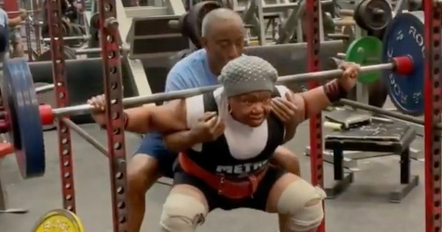 78-year-old powerlifting grandmother