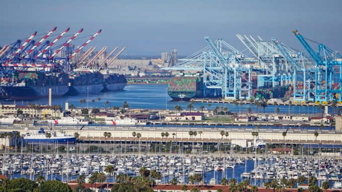 los angeles port