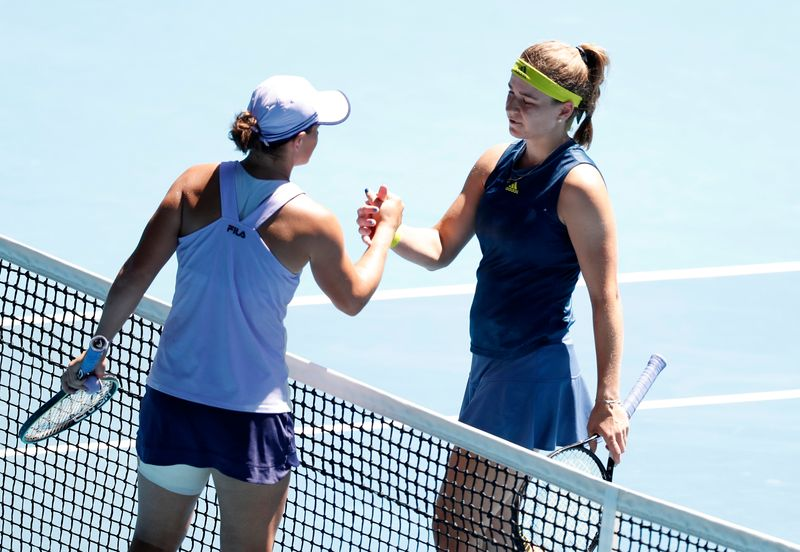 No Ash Wednesday as Barty's bid ends in quarter-finals