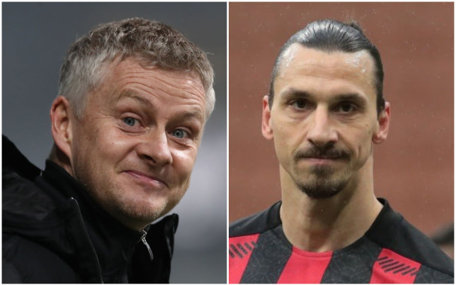 Ole Gunnar Solskjaer has been 'impressed' with Zlatan Ibrahimovic's return from injury