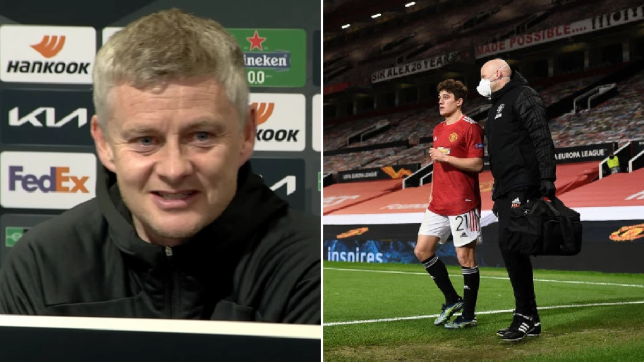 Solskjaer reveals three injured Manchester United stars are back and gives Daniel James update
