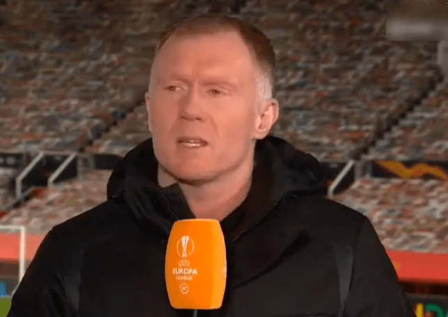 Paul Scholes believes Man Utd are the clear favourites to win this season's Europa League