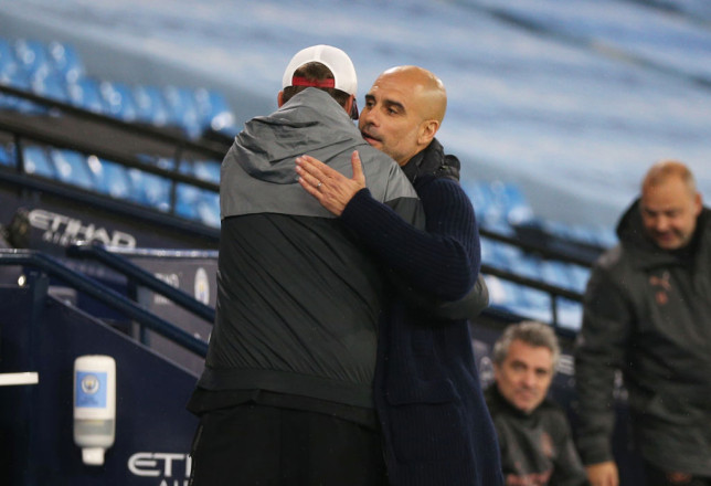Guardiola showed support for his rival manager
