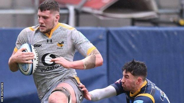 Wasps flanker Tom Willis set his side on their way to victory at Worcester with the first try of the afternoon - and his third of the season