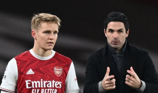Odegaard is a big fan of Gunners boss Mikel Arteta