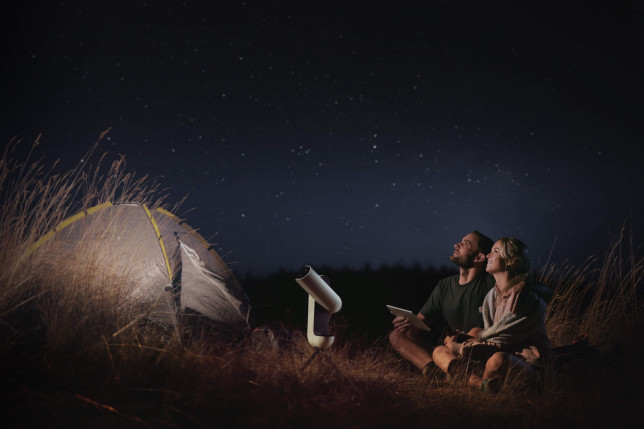 Created by French startup Vaonis, the Vespera is aimed at making amateur astronomy and astrophotography easier than ever before (Vaonis)