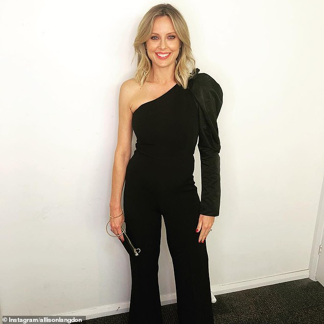 'I've done a right royal job on it': Today host Allison Langdon has revealed for the first time the extent of her injuries as a result of the botched stunt
