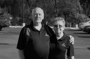 Steve Marshburn, founder of the organization Lightning Strike and Electric Shock Survivors International, and his wife, Joyce.