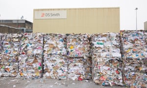 DS Smith's Kemsley paper recycling mill, near Sittingbourne.