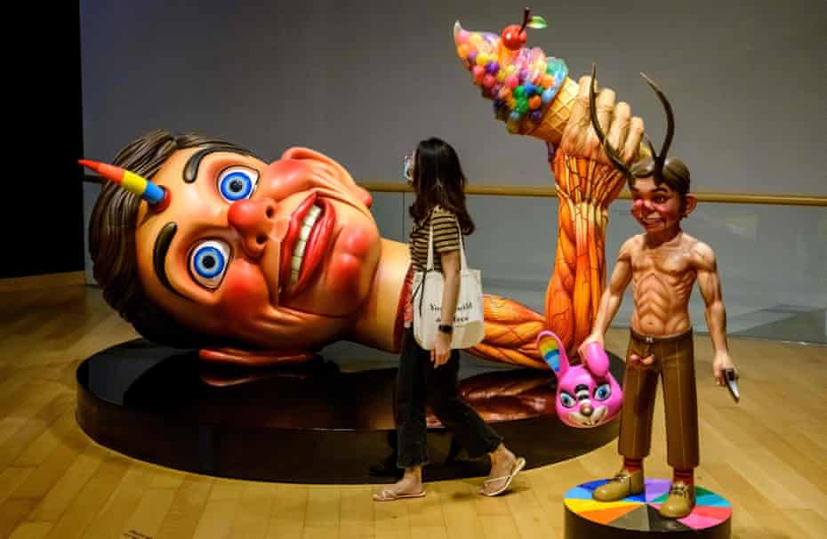 Instalation by Thai artist P7 at last year's Bangkok Art Biennale.