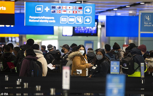 UK border disruption would be extreme - Britain welcomes 120million more arrivals each year than Australia, meaning delays would hit harder