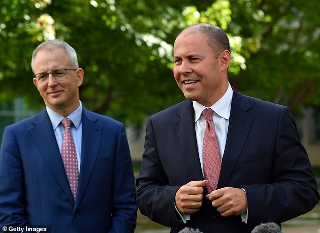 Treasurer Josh Frydenberg (right) hailed the news as a victory and said Facebook will negotiate with Australian publishers over their content