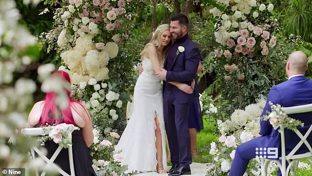 Radio silence: Daily Mail Australia understands Nine's PR team and the bride herself were frantically trying to get in contact with the groom ahead of their scheduled appearances