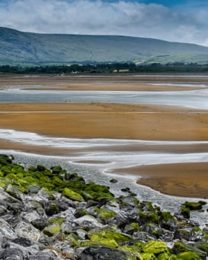 Strandhill Beach, Sligo Bay, Republic of Ireland.