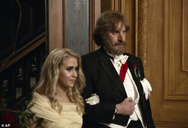 Praise: Sacha has landed a Golden Globe nomination for his performance in the film, alongside his co-star Maria Bakalova