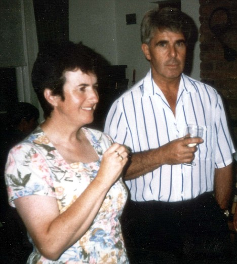 Max Clifford and first wife Liz