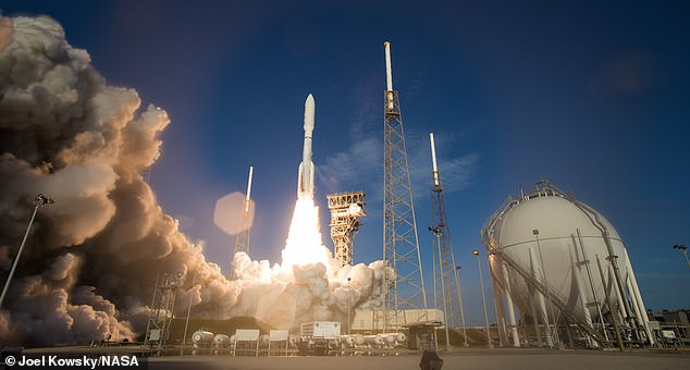 NASA launched Perseverance July 30 from Cape Canaveral Florida aboard a United Launch Alliances Atlas V rocket (pictured)