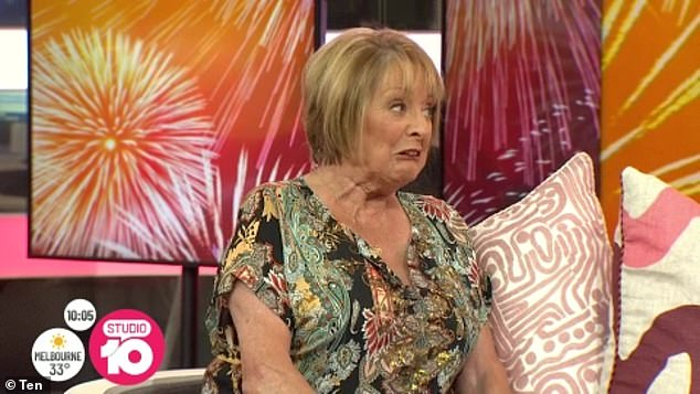 Recovery: Appearing on Studio 10 earlier this month, Denise confirmed that she'd fractured her shoulder during the fall and had been recovering for the past three months