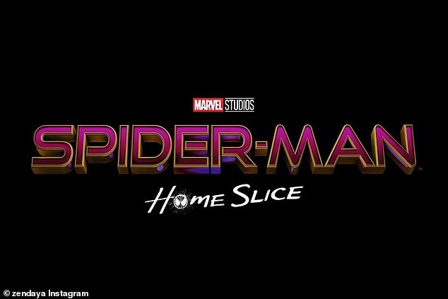 Z's title: Since 'home' is an integral theme in all of the Spider-Man movies, Holland, Zendaya and Batalon decided to share their own home-centric titles, with Zendaya's Spider-Man: Home Slice