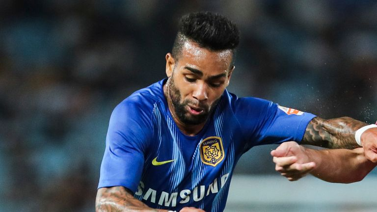 Alex Teixeira has been a high-profile signing for the Chinese club