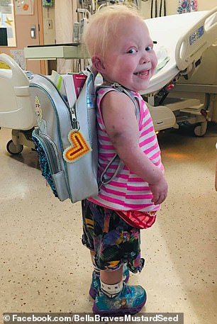 Hirschprung's disease is a colon birth defect that involved doctors removing Isabella's entire colon and placing her on the list for a bowel transplant.