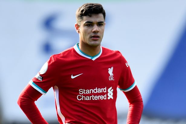 Kabak is midway through a six-month loan at Anfield