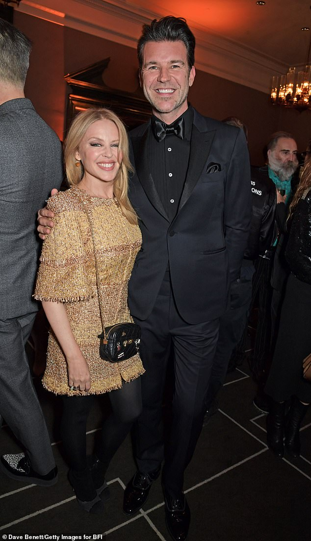 Hot couple: Kylie has been dating Paul, the creative director of British GQ magazine, since 2018. In recent months, she has remained coy about speculation they are set to wed