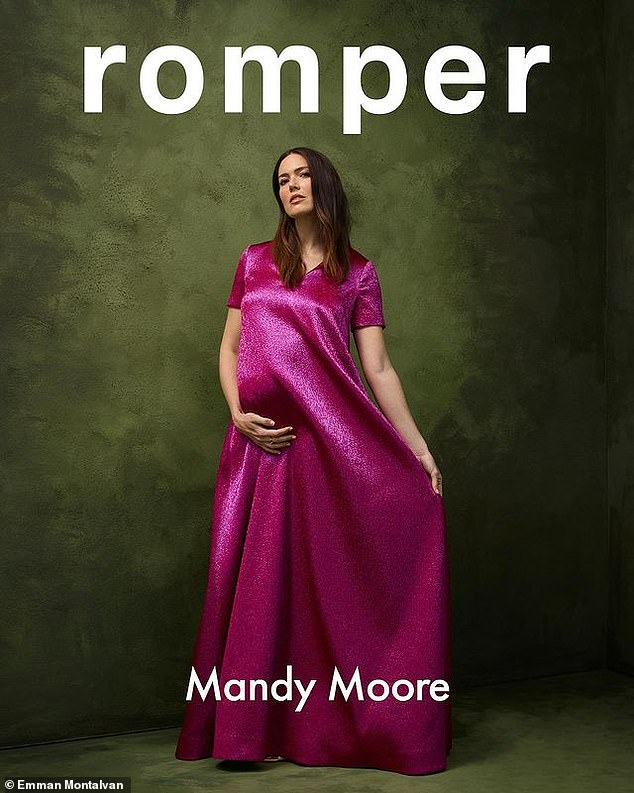 She was determined: In January Moore told Romper she was 'fully prepared to have surgery' in order to have a baby