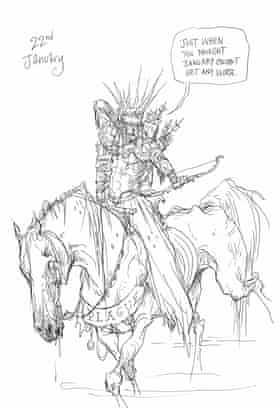 Horseman of the apocalypse.