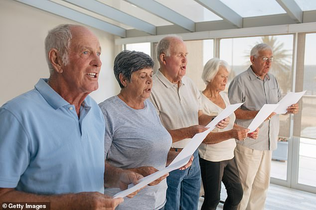 Singers who joined a choir less than ten years ago reported higher of overall health than either longtime choristers or non-singers. Researchers theorize that could mean they took up singing as part of an overall effort to engage in a more active lifestyle