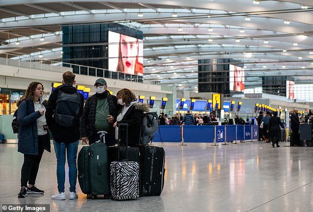 Many Britons would also face being stranded overseas, since the number of arrivals would be limited by the number of quarantine hotel rooms available