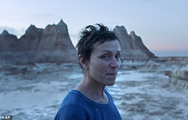A standout: Frances McDormand was nominated for her work in Nomadland