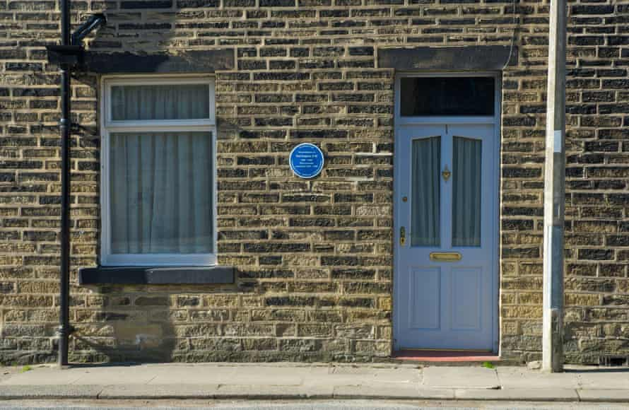 1, Aspinall Street, Mytholmroyd, Calderdale, West Yorkshire, birthplace of Poet Laureate, Ted Hughes